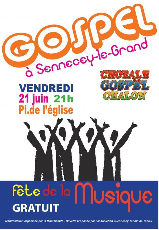 Affiche gospel 21062019